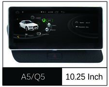 For Audi Q5 10.25'' 8 Core Android 9.0 Headunit Stereo Audio Carplay Navigation