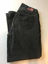 Ralph Lauren POLO JEANS CO Vintage Black Jeans High Waisted Mom Jeans 14/29