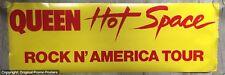 "QUEEN - TOUR POSTER ROCK N' AMERICA HOT SPACE 1982 TOUR (lp vinyl box promo 12"")"