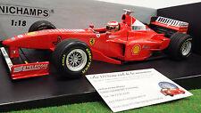 F1 FERRARI 1998 F300 formule 1 IRVINE 1/18 MINICHAMPS 180980004 voiture miniatur
