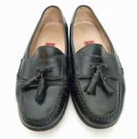 Cole Haan City Mens Size 8.5 M Kiltie Tassel Loafer Slip on Moccasin Dress Shoes