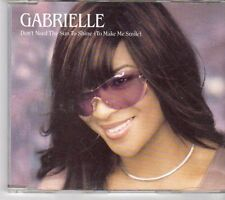 (EY243) Gabrielle, Don't Need The Sun To Shine - 2001 CD