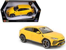 1/18 Bburago Lamborghini Urus Yellow Diecast Model Car Yellow 18-11042
