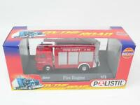 1:72 POLISTIL No. 90221 ON THE ROAD - MAN - FIRE ENGINE FONDO MAGAZZINO[QN3-026]