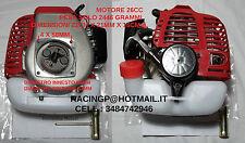 OFFERTA MOTORE 26CC TU26 X RC MODELLISMO BARCA AUTO AEREO / DECESPUGLIATORE