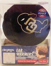 Degrees by 180s Earwarmers Colorado logo (58099) (Black) One Size *NWT* $15.95