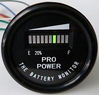 PRO12-48M ™ for 48 Volt EZGO, Yamaha, Club Car Battery Indicator - Golf Car