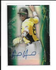 ALEN HANSON 2014 Bowman Sterling GREEN REFRACTOR AUTO RC /125 S.F. Giants *HOT*