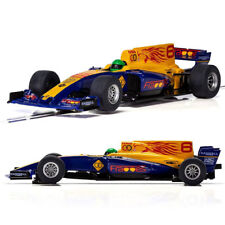 SCALEXTRIC Slot Car C3960 2017 Formula One Car - Blue Wings