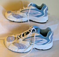 Nike Boys or Girls Youth size 5.5 Y Sneakers 000204 Blue & White low top Shoes