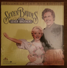 LASERDISC Movie: SEVEN BRIDES FOR SEVEN BROTHERS - Musical - Collectible