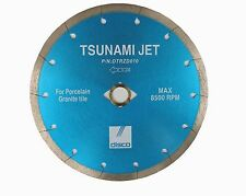 "7"" Disco Tsunami Series Porcelain, Ceramic and Granite Tile Blade"