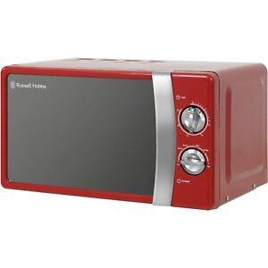 Russell Hobbs RHMM701R 17L Microwave - Red