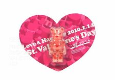 Medicom Toy Bearbrick 100% Valentine'S Day 2010 Gid Valentine Gid