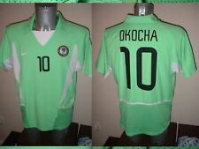 Nigeria Bolton 10 Okocha Camiseta Jersey Fútbol Adulto Xl Nike Vintage 02 Home Top