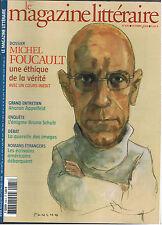 MAGAZINE LITTERAIRE N°435 2004  MICHEL FOUCAULT