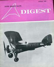 Air Britain Digest Magazine 1969 August Thorney Island