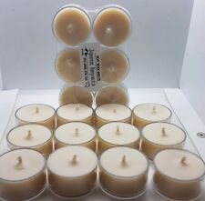 SOY TEA LIGHT CANDLES X 18, MAX FRAGRANCE, CHOOSE YOUR SCENTS, FREE POST