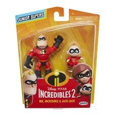 Disney Incredibles 2 film Junior 2 Pack-MONSIEUR INCROYABLE & Jack Jack-Neuf