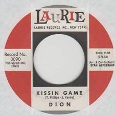 DION 45 KISSIN GAME B/W HEAVEN HELP ME VG LAURIE 3090 TEEN
