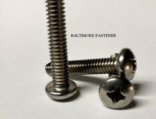 Pan Head Phillips Machine Screws Stainless Steel  #1/4-20 x 1