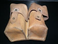 LEATHER SKS AMMO POUCH Military JNA Army Yugoslavia Belt Bag costume Star Wars