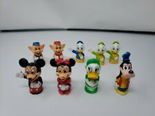 LOT OF 9 VINTAGE DISNEY LITTLE PEOPLE CHARACTERS