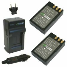 Wasabi Power Battery (2-Pack) and Charger for Nikon EN-EL9