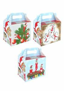 Christmas Cake Box Lunch Box Elfin Around Kids Picnic Box Outdoor Parties