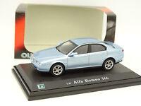 Cararama Oliex 1/43 - Alfa Romeo 166 Bleue