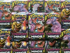 Pokemon Sun & Moon Unified Minds TCG Booster Pack sealed