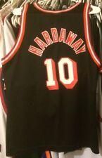 Tim Hardaway Miami Heat NBA Jersey  Champion 40 Men M Hwc Black Vtg #10 Rare