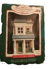 Unused 1987 Hallmark Keepsake Ornament Collector's Series House on Main Street