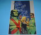 DC COMICS JUSTICE LEAGUE 5 FOUNDING MEMBERS POSTER PIN UP