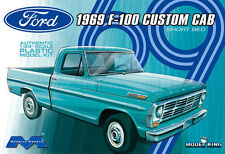 Moebius 1969 Ford F-100 Custom Cab Short Bed, 1/25, New (2014) FS Box