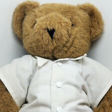 "The Vermont Teddy Bear Company 16"" Jointed Soft Fur Brown Authentic Classic"