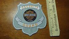 SECURITY GUARD  POLICE MOTORCYCLE PATROL  MOTORCYCLE ROCKER BLUE KNIGHTS BX L 6