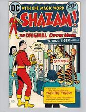 Shazam! #7  The Original Captain Marvel with Mr Tawny from 1973 VF!