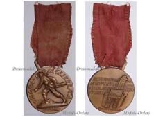 ITaly Medal Inaguration Bersaglieri Statue Historical Museum Rome 1932 Military