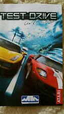 BOOKLET/MANUAL ONLY FOR TEST DRIVE UNLIMITED PS2 (NO GAME)♥♥♥  FREE POST