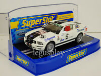 Slot Car Scalextric Superslot H2774 Ford MUSTANG Fr 500C