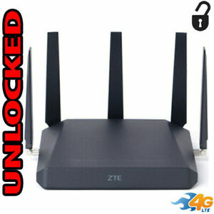 ZTE MF288 SMART HUB Turbo 4G LTE SIM GSM WIFI Unlocked 5 Antennas