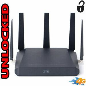 ZTE MF288 SMART HUB Turbo 4G LTE SIM GSM WIFI Unlocked 5 Antennas