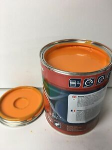 Jensen Wood Chipper Orange Paint Endurance Enamel Paint 1 Litre Tin