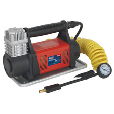 MAC07 Sealey Mini Air Compressor 12V Heavy-Duty [Tyre Inflators]