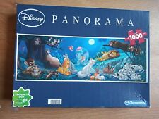 DISNEY - PANORAMA - 1000 PIECE JIGSAW PUZZLE BY CLEMENTONI - ITALY