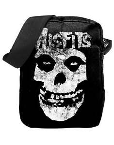Misfits Crossbody Bag Glow Fiend Band Logo new Official Black One Size