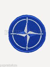 Patch Nato Color Toppa Militare Ricamata con Velcro