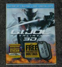 G.I. JOE: RETALIATION [3D / Blu-ray / DVD / Digital Copy +UltraViolet] THE ROCK