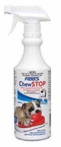 Fidos Chewstop Spray Dog Puppy Bitter Spray and Training Aid 200ml and 500ml